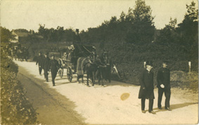 The Funeral of Thomas Bond