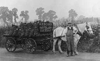 Mr Scard Coal Merchant c1912